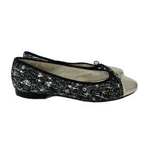 Sam Edelman Sara Leather Tweed Multicolor Flats
